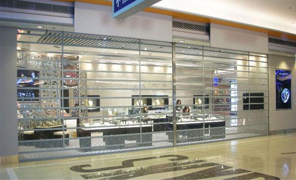 Cửa Cuốn Trong Suốt Austvision Austdoor