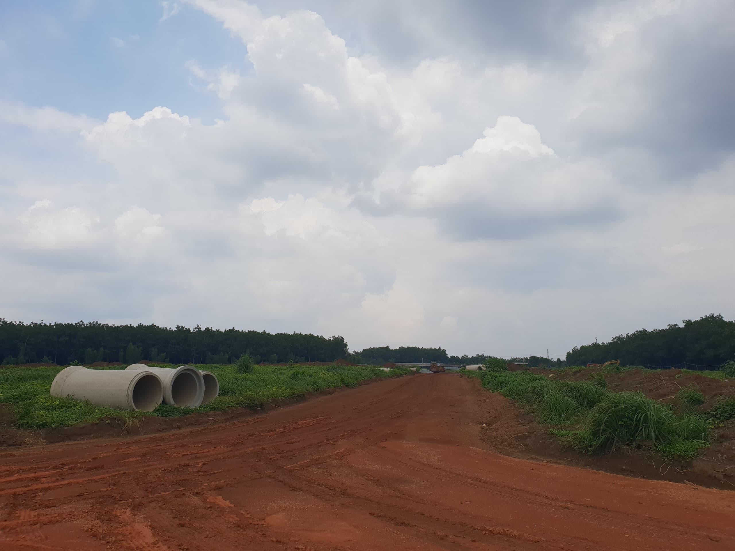 Dự án đất nền Tân Lập Garden Bình Phước đang triển khai