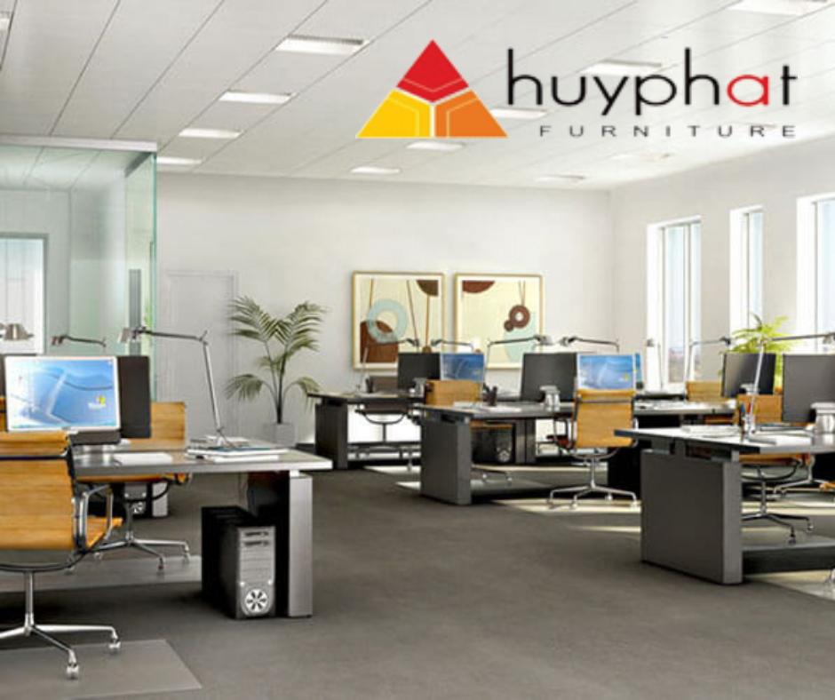 Thiết kế nội thất văn phòng cao cấp với nội thất hòa phát