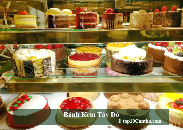 Top 10 Tiệm bánh kem ngon bậc nhất tại Ninh Kiều Cần Thơ