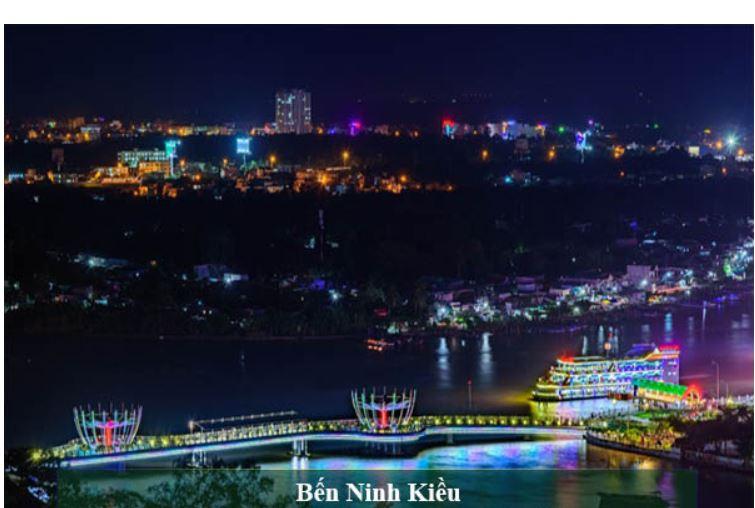 Top 10 Điểm chụp hình cưới đẹp mộng mơ tại Ninh Kiều Cần Thơ