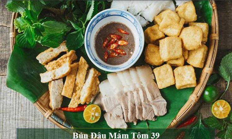 Top 10 quán bún đậu mắm tôm nổi tiếng Ninh Kiều Cần Thơ