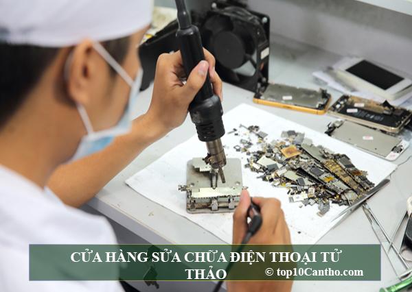 Top 10 tiệm sửa chữa điện thoại uy tín chính hãng tại Ninh Kiều Cần Thơ