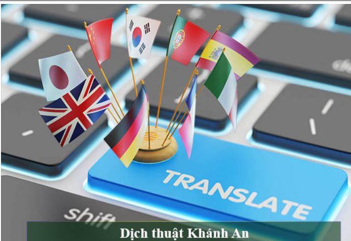 Top các công ty dịch thuật uy tín nhất tại Ninh Kiều Cần Thơ