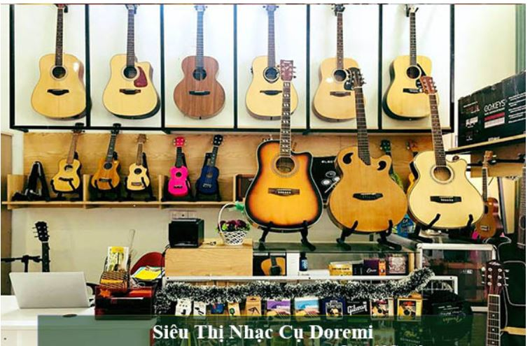 Top 10 Shop nhạc cụ uy tín chính hang tại Ninh Kiều Cần Thơ
