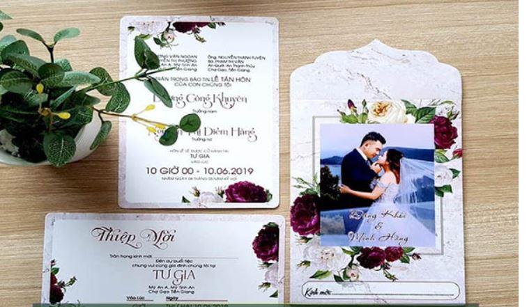Top 10 Tiệm In thiệp cưới đa mẫu mã cực HOT Ninh Kiều Cần Thơ