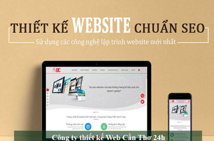 Top 10 Công ty thiết kế Web chuyên nghiệp tại Ninh Kiều Cần Thơ