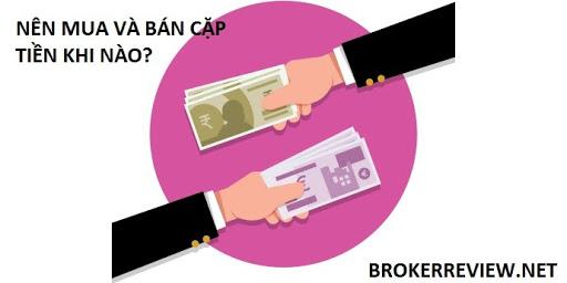 Lựa Chọn Thời Điểm Khi Nào Nên Mua Hoặc Bán Một Cặp Tiền Trong Forex