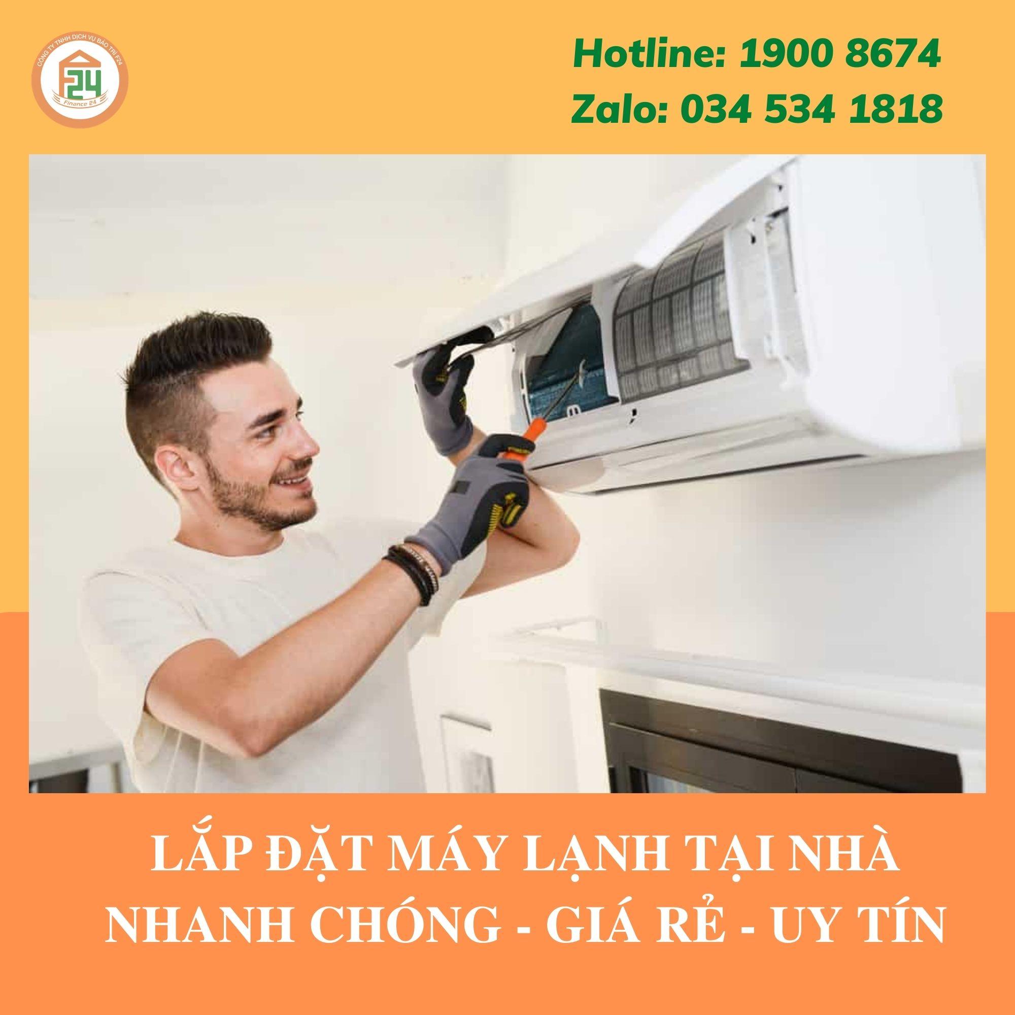 Lắp Đặt Máy Lạnh Giá Rẻ Quận 1 TpHCM   Nhanh Chóng & Chuyên Nghiệp